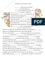 4pages Present Simple Reading comprehension Text Grammar Drills Worksheet Templates Layouts 106049
