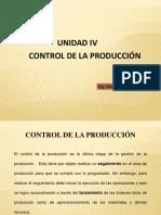 UNIDAD IV Control de La Produccion Mm
