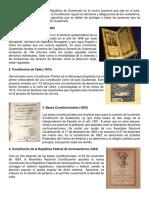 12 Constituciones de Guatemala
