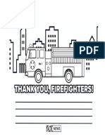 Thank you firefighter