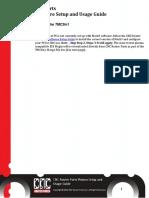 Plasma Software Setup and Usage Guide v0005