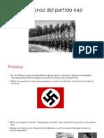 El Ascenso Del Partido Nazi y Doctrinas