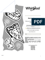 whirpool WOA110S Manual de Uso Cuidado e Instalacion