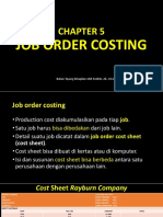 Cost Ch 5 Job Order Costing 2019