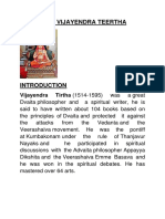 Sree Vijayendra Theertha