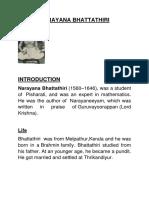 Narayana Bhattathiri