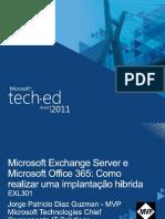 Microsoft Exchange Server e Microsoft Office 365 Como Realizar Uma Implantac3a7c3a3o Hibrida