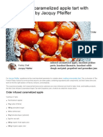 Recette Cider Infused Caramelized Apple Tart With Grapefruit Jam by Jacquy Pfeiffer So Good Magazine