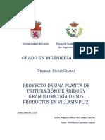 Proyecto - Granulometría Del Producto