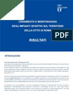 Presentazione Dati Censimento Roma 13-09-2016 ALLEGATO