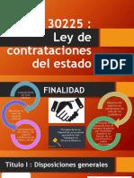 Ley de Contrataciones Del Estado - TITULO III y IV