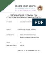 6. Antimicóticos, Antivirales y Colutorios