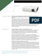 Manual de proyector sony
