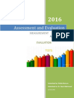 Assessment and Evaluation.docx