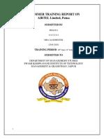 Internship Airtel Report