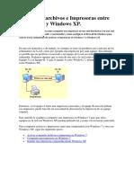 Compartir Archivos e Impresoras Entre Windows 7 y Windows XP