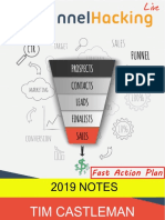 Funnel Hacking Notes Fast Action Plan