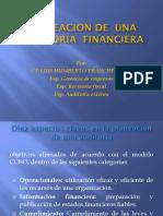 Planeacion de Una Auditoria Financiera