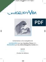 Evangelio y Vida - Noviembre / Diciembre 2019