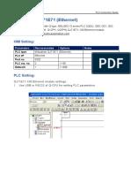 QJ71E71 PLC