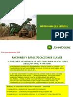 COSECHADORAS JOHN DEERE 3520