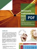 Seminario Instrumentos Archivisticos - Cali 2