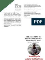 Auberto Bustillos Osorio Biografía