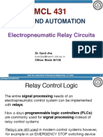Electropneumatic Relay circuit