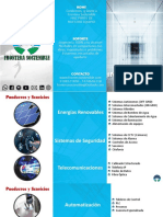 Brochure Frontera Sostenible