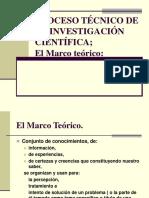 TEMA II El Marco Teórico