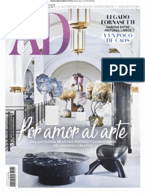 Architectural Digest Mexico 02 2019 Newspaper And