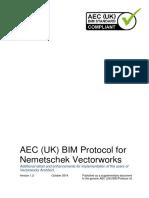 AEC (UK) BIM Protocol for Nemetschek Vectorworks