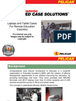 Pelican Laptop and Tablets Cases for Education in Colombia