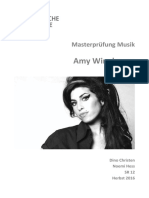 Amy Winehouse - Masterarbeit
