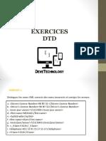 Exercice DTD