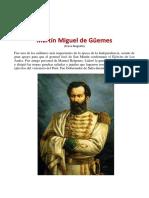 Biografía de Martín Miguel de Güemes b