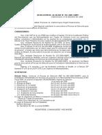 Resolucion 0254 Convoca a Proceso