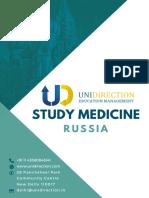 Medicine Brochure Russia