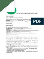 Modelo Contrato Para Georreferenciamento