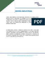 Carta Especificacion Vidrieria Industrial 2019