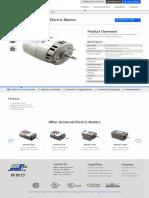 Model 2900 Universal Electric Motor _ Motor Specialty Inc