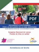 Cuestionario Diocesano Congreso Nacional de Laicos- GRUPOS