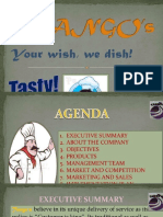 Business Plan Report of Fast Food Restaurant