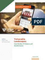 Vulnerable Landscapes