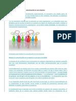 Estrategias Para Mejorar La Comunicación en Una Empresa
