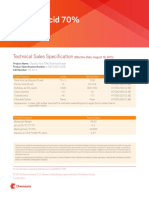 Glycolic Acid 70 Tech Grade Specsheet