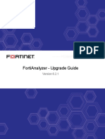 Fortianalyzer v6.2.1 Upgrade Guide