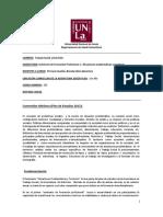 Seminario 1 Pereyra 2019 - Trabajo Social