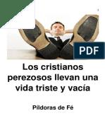 eBook Los Cristianos Perezosos Llevan Una Vida Triste y Vacía
