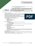 EP1- Entrenamiento y Evaluación de La Potencia Muscular